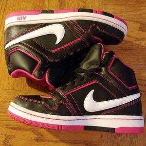 Nike Air Prestige III Hi Top Basketball Shoes 7.5y